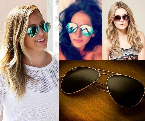 Солнцезащитные очки капли женские