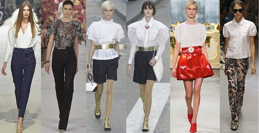 Модные Блузки 2017 Фото Тенденции Мода Одежда