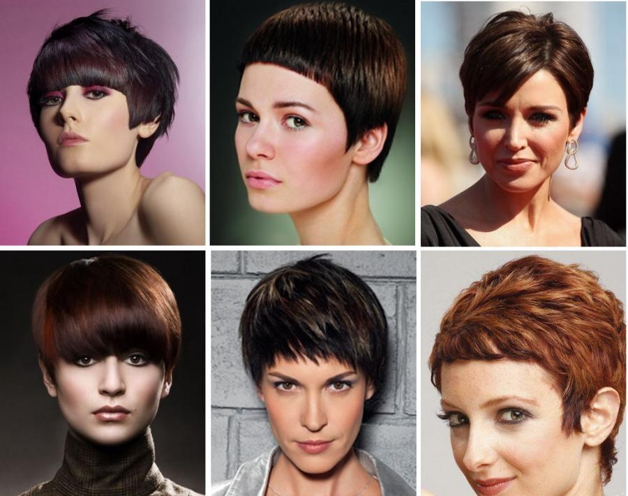 Стрижка на короткие волосы 2017 модные тренды фото женские